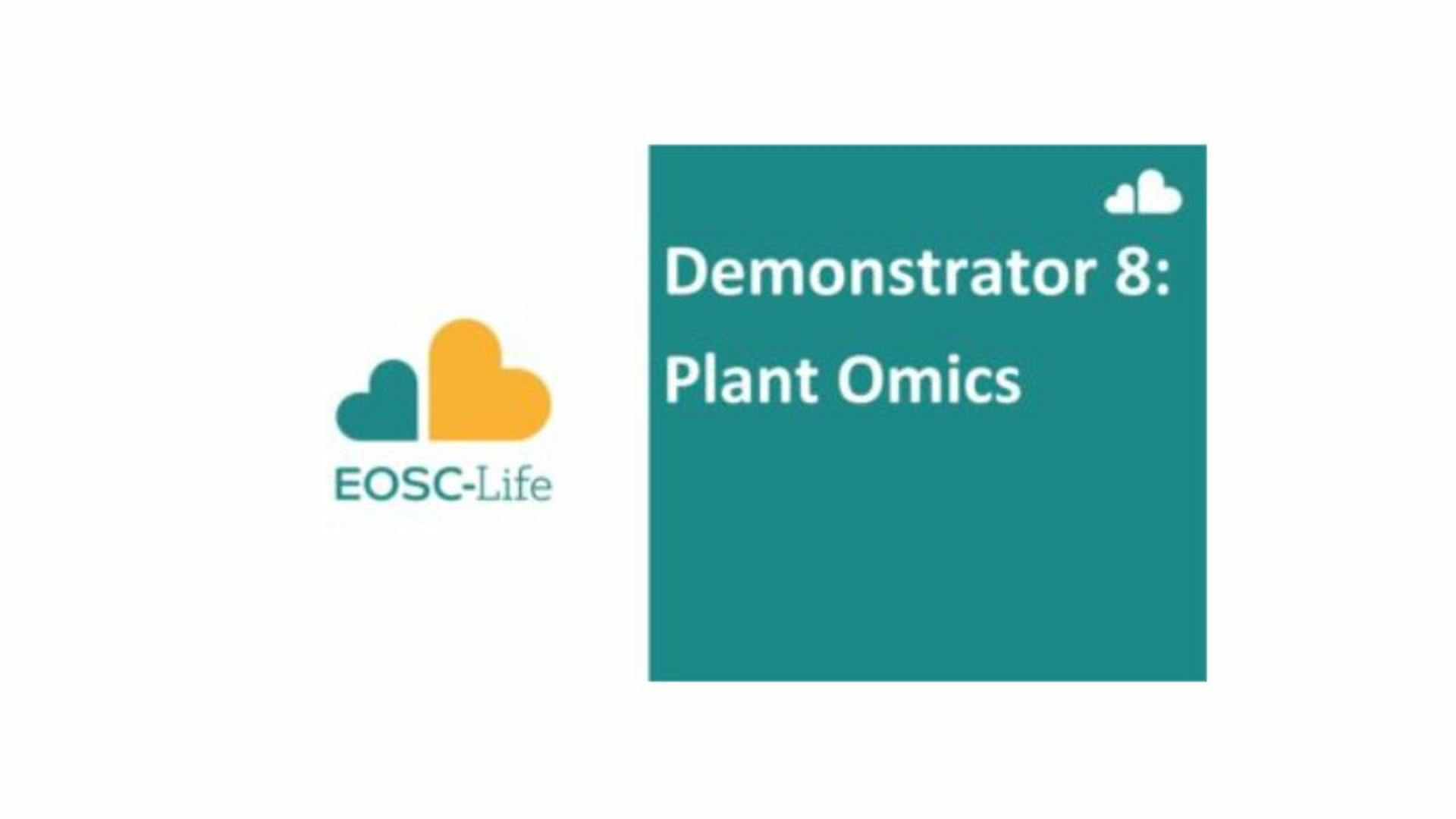 EOSC-Life Demonstrator header